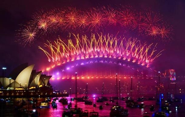 Сідней зустрів Новий рік рекордним салютом та феєрверками