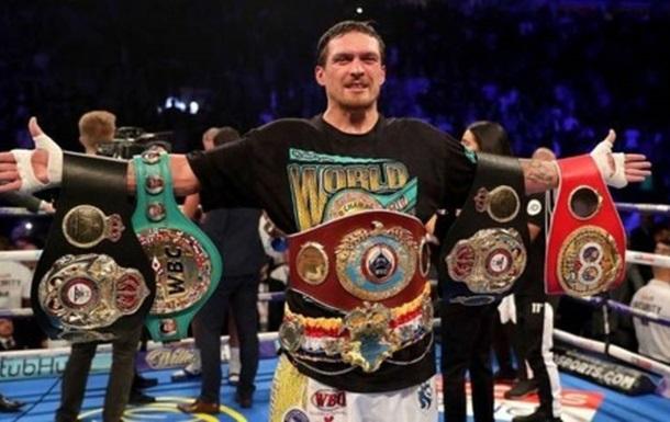 Усика визнали найкращим боксером року за версією WBA