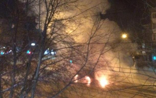 У Магнітогорську згоріла маршрутка: є жертви