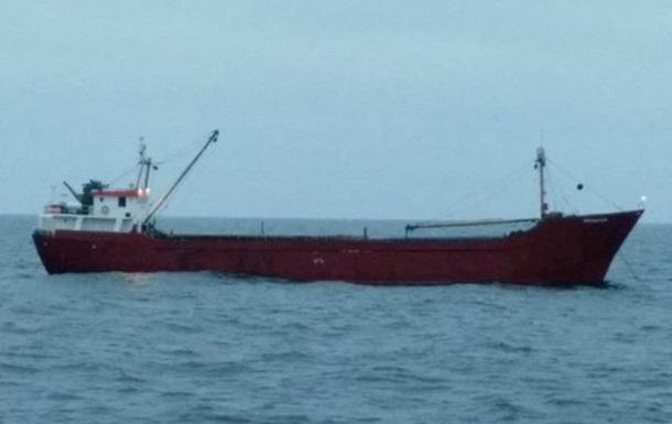 ВМС України затримали судно під прапором Танзанії