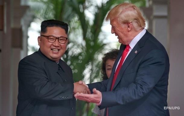 Трамп чекає зустрічі з Кім Чен Ином