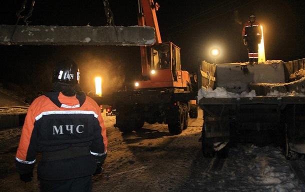 У  ДНР  заявили про підрив опори мосту в Донецьку