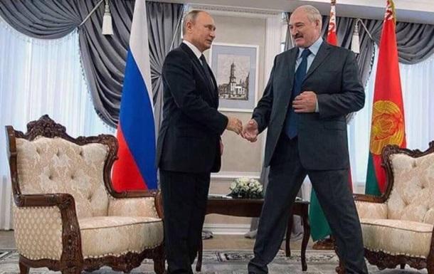 Поглинання Біларусі. Диктатор Путін знищує диктатора Лукашенко