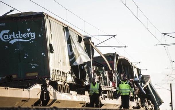 У Данії зіткнулися потяги: шість жертв