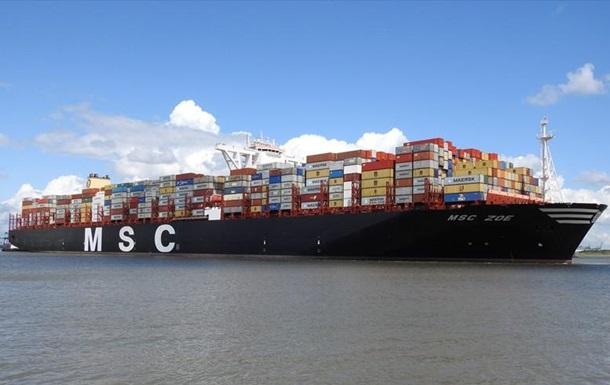У Північному морі шукають контейнери, що впали з борту судна Zoe