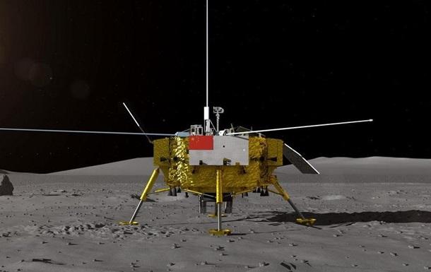 Китайський зонд Chang e-4 успішно сів на темний бік Місяця