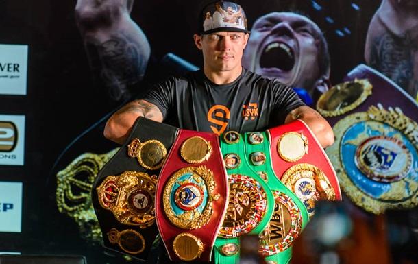 BoxingScene назвал Усика лучшим боксером 2018 года