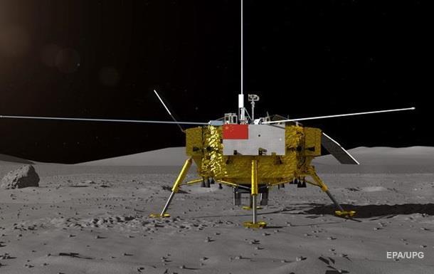 Впервые в истории. Зонд на обратной стороне Луны