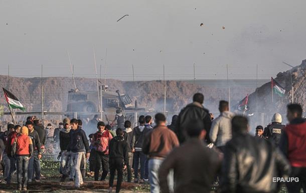 На кордоні Гази протестували тисячі палестинців