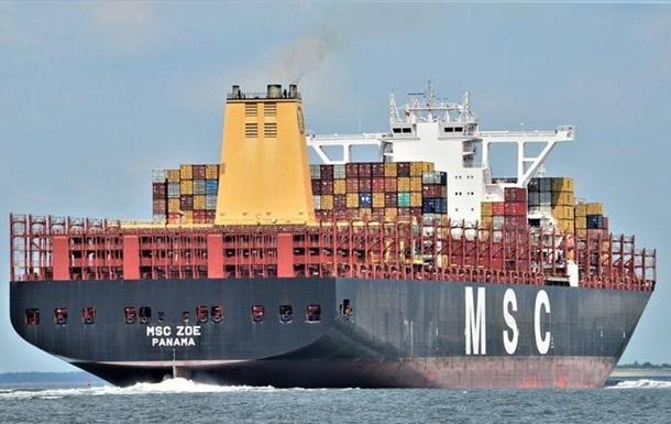У Німеччині підтвердили втрату вантажу з хімікатами в Північному морі