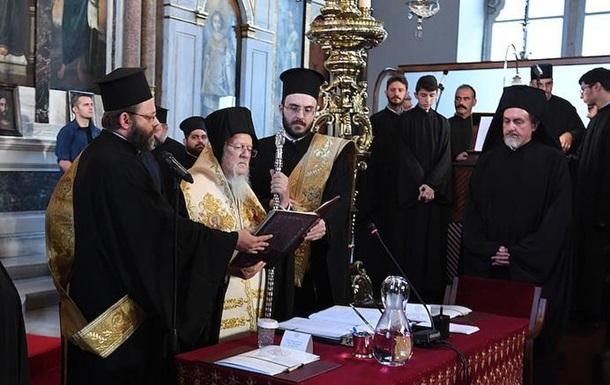 Церемония подписания Томоса для Украины