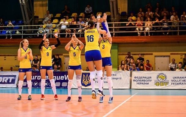 Женская сборная Украины по волейболу вышла на чемпионат Европы