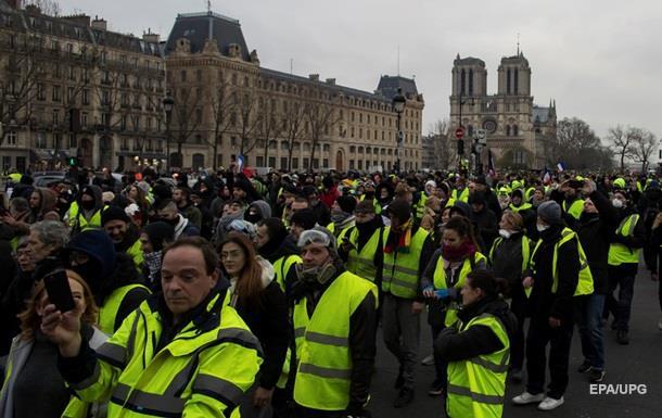 Протесты в Париже: задержаны 103 участника