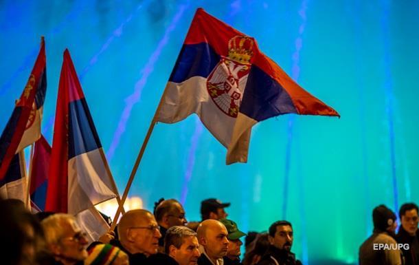 У Сербії пройшли нові протести проти президента