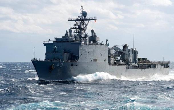Десантный корабль США направился в Черное море