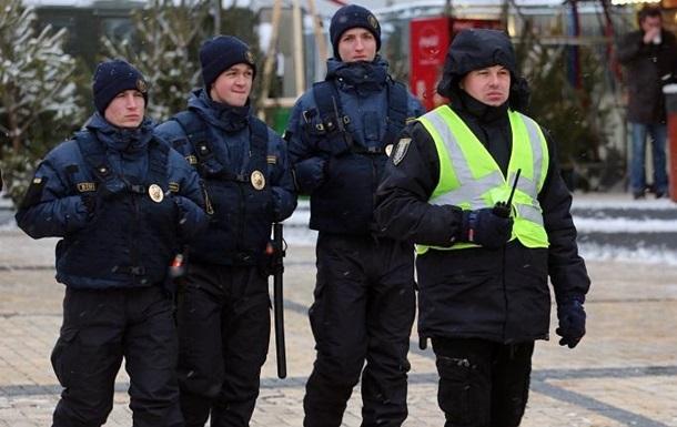 На Рождество Киев охраняет тысяча полицейских