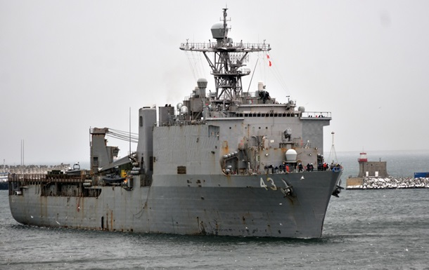 Корабель ВМС США здійснить навчання в Чорному морі