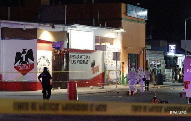 В баре Мексики произошла стрельба: семь погибших