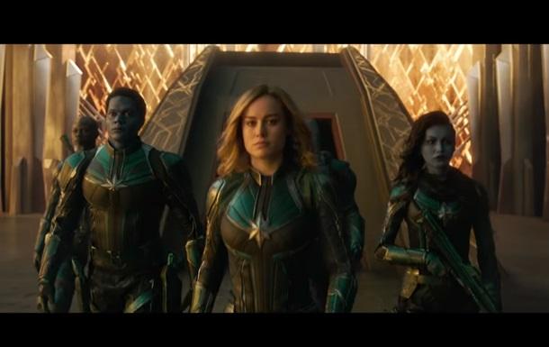 Капитан Марвел: видео