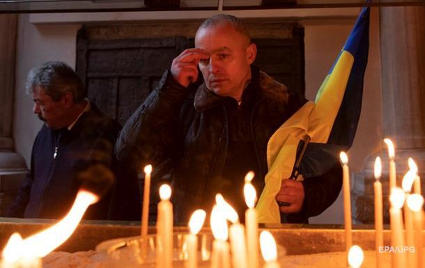Пожары и очередь к Томосу. Как Украина отпраздновала Рождество