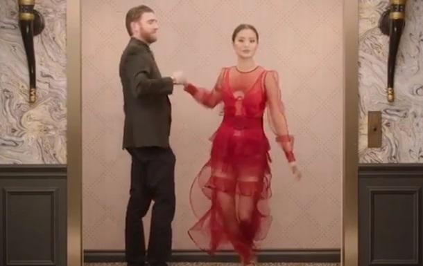 Две актрисы посетили Золотой глобус в платьях украинских брендов