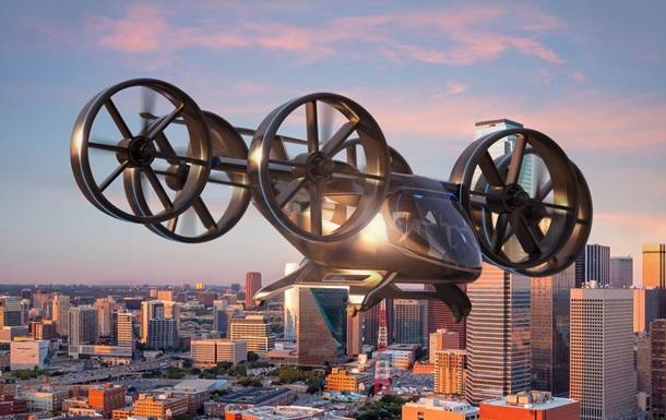 Американцы создали аэротакси с шестю пропеллерами