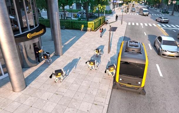 У США роботів-собак навчать доставляти посилки на безпілотниках