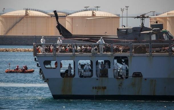 Бельгія не прийняла врятованих у Середземному морі мігрантів