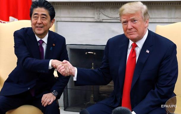 Япония ждет поддержки от США по договору с Россией