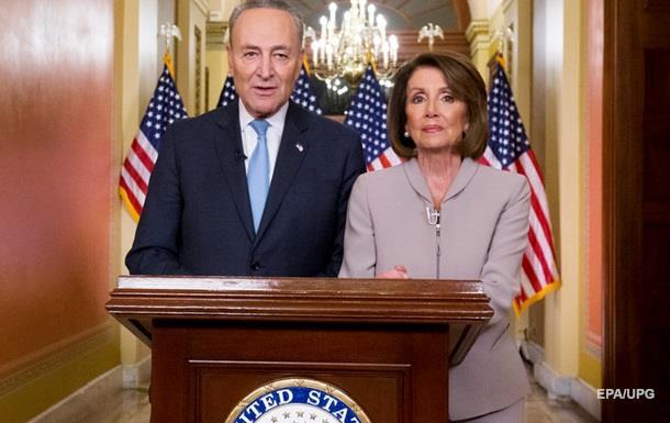 Лідери демократів розкритикували Трампа після звернення до нації