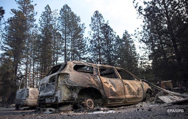 Трамп запретил давать Калифорнии деньги на борьбу с пожарами