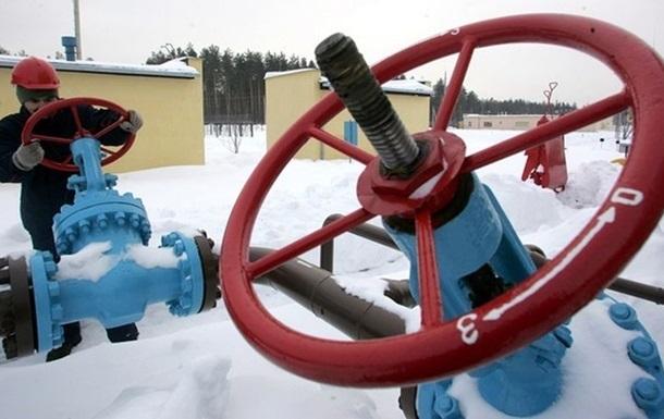 Украина использовала почти четверть запасов газа