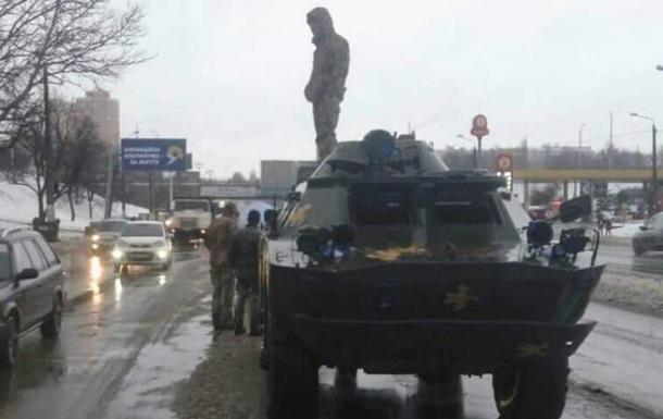 В Одесі сталася ДТП за участю бронемашини