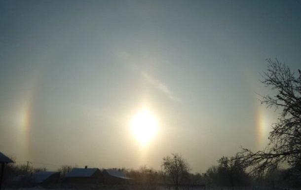 Під Києвом помітили рідкісне світлове явище