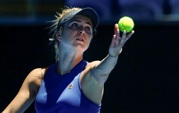 Свитолина узнала имя первой соперницы на Australian Open