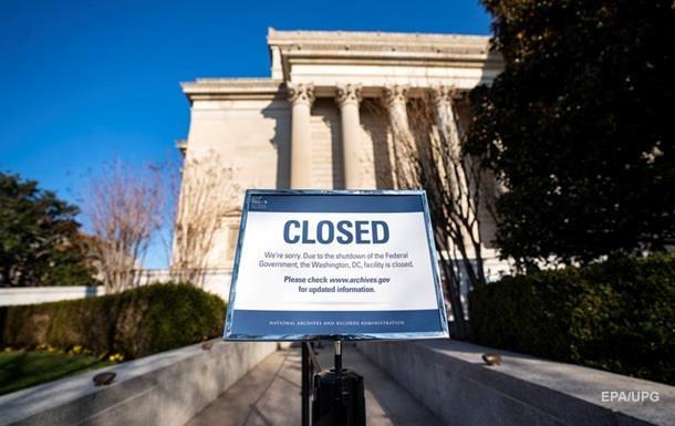 У США оцінили втрати для економіки через  шатдаун