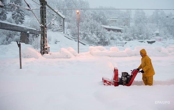 Австрию и Германию засыпали сильнейшие снегопады