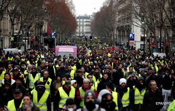 Протесты во Франции: задержаны 240 человек