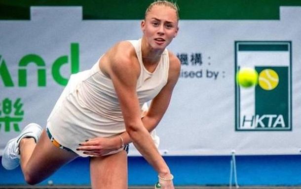 Украинская теннисистка Лопатецкая выиграла турнир в Гонконге