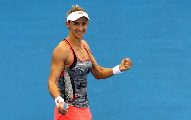 Цуренко на класі пройшла стартовий раунд Australian Open