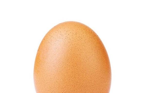 Фото куриного яйца стало рекордсменом Instagram