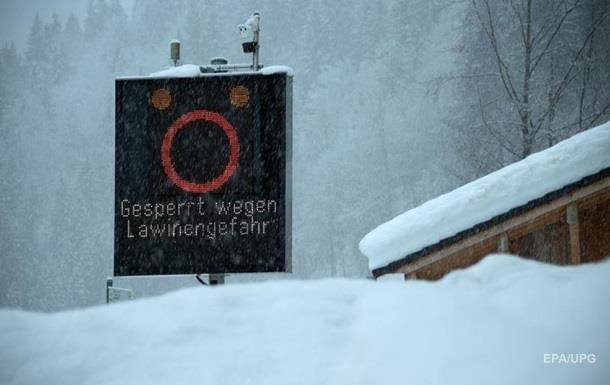 В Альпах за вихідні п ятеро людей загинули після сходження лавин