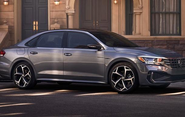В Сеть  слили  фото Volkswagen Passat-2020