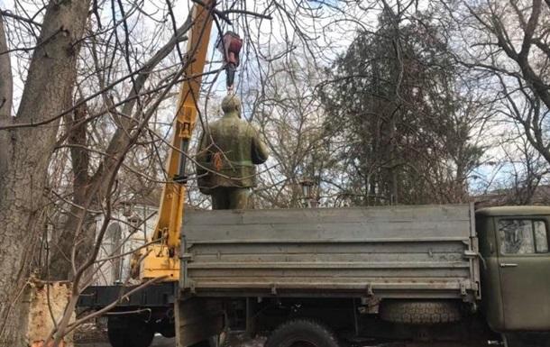 У Миколаєві знесли останній пам ятник Леніну