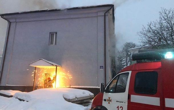 Пожар в Киево-Печерской лавре локализован