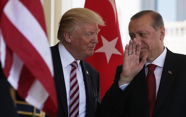 Трамп і Ердоган домовилися про співпрацю в Сирії