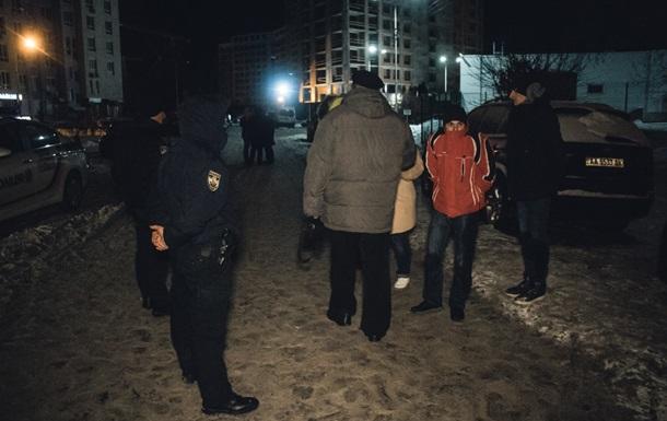В Киеве на заправке произошла массовая драка