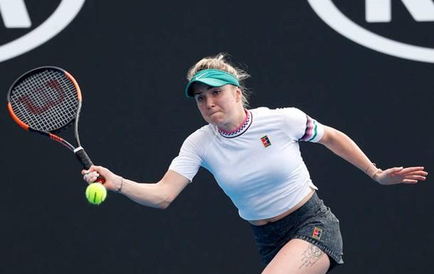 Світоліна не помітила Голубич в першому колі Australian Open