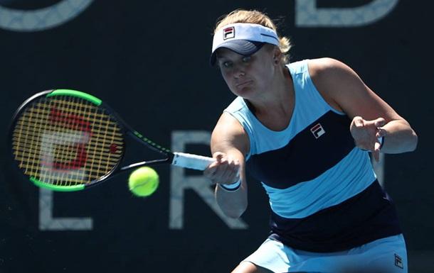 Australian Open: Козлова у впертій боротьбі поступилася Кузьмовій