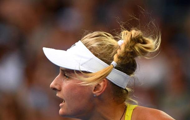 Украинка прокомментировала дебютную победу на Australian Open